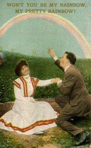 Greeting - Won't you be my rainbow?