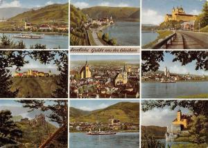 Herzliche Gruesse aus der Wachau Church Castle River Boat Kirche Schloss