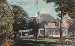 ST. PAUL, Minnesota, 1900-1910´s; Town And County Club
