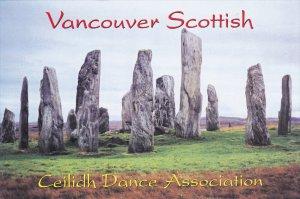 VANCOUVER Scottish, Ceilidh Dance Association, British Columbia, Canada, 50-70s