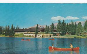 Jasper Park Lodge , lac Beauvert , JASPER , Alberta , Canada , 50-60s