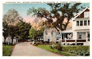 Pennsylvania  Tannersville , Lackawanna Trail