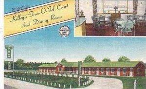 South Carolina Olanta Kelleys Trav O Tel Court and Resturant