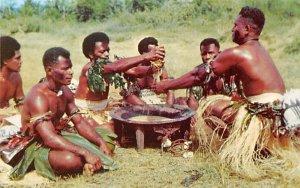 Yanqona Ceremony Fiji Unused