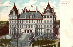 New York Albany State Capitol Building 1910