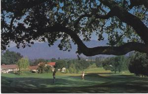 Post Card  United States California Golf Ojai Valley Inn & Country Club