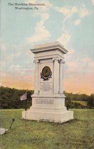 Pennsylvania Washington The Hawkins Monuments 1910
