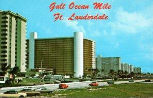 Florida Fort Lauderdale Galt Ocean Mile Looking South