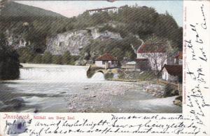 INNSBRUCK, Tirol, Austria, 1900-1910's; Sillfall Am Berg Isel