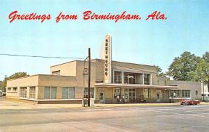 Birmingham AL Greyhound Bus Station Postcard