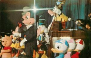 Mickey Mouse Revue Goofy Pooh Magic Kingdom Walt Disney World Florida Postcard