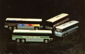 Royal Coach - Models of 4 Commercial Bus Lines