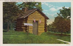 Pennsylvania Valley Gorge Continental Army Hut