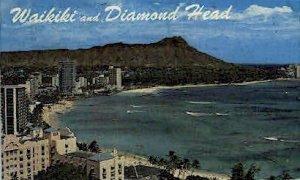 Waikiki & Diamond Head - Hawaii HI