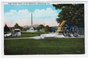 Gettysburg, Pa., High Water Mark of the Rebellion