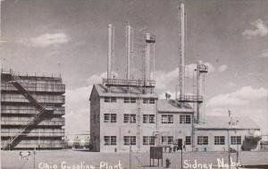Nebraska Sidney Ohio Gasoline Plant 1953 Real Photo RPPC