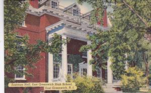 Rhode Island East Greenwich Eastman Hall East Greenwich High School