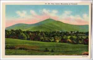 Mt Pico, Green Mts VT