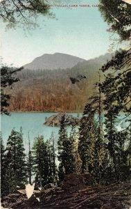 Lake Tahoe California 1908 Postcard Emerald Bay and Mt. Tallac