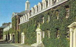 Troy New York~Rensselaer Polytechnic Institute~Dormitories on Quadrangle~1950s