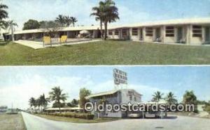 White Heron Motel, Homestead, FL, USA Motel Hotel Postcard Post Card Old Vint...
