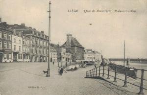 Belgie Liege Quai de Maestricht Maison Curtius 02.78