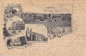 Gruss aus CLAUSTHAL , Germany , 1896