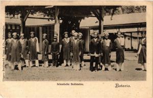 INDONESIA PC DUTCH INDIES - JAKARTA Batavia, Indlandsche Bedienden (a1783)