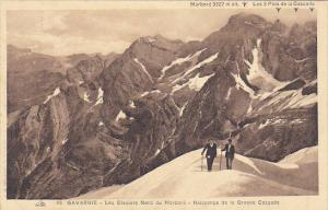 France Gavarnie Les Glaciers Nord du Marbora Naissance de la Grande Cascade