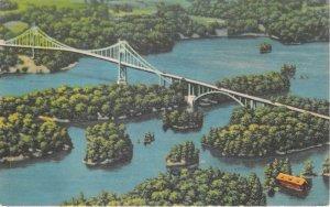 Lot139 canadian spans thousands islands international bridge ivy lea canada
