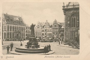 BREMEN , Germany , 1901-07 ; Marktplatz