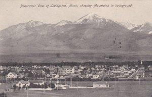 Montana Livingston Panoramic View 1908 sk2054
