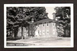 HANCOCK NEW HAMPSHIRE NH History Bldg Real Photo RPPC Postcard