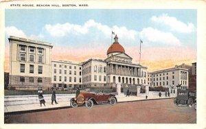 State House Boston, Massachusetts Postcard