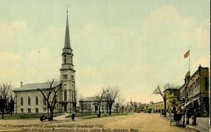 MA - New Bedford. First Congregational Church