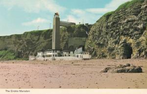 The Grotto Marsden Cumbria Peter Allan Excavation 1970s Postcard