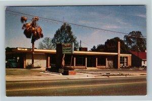 Valdosta GA, Minchew's Restaurant, Chrome Georgia Postcard
