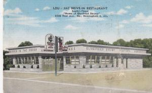 BIRMINGHAM , Alabama , 30-40s; Lou - Jac Drive-in Restaurant