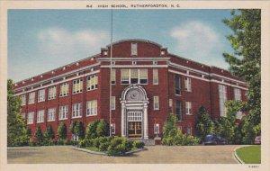 North Carolina Rutherfordton High School
