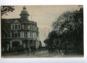 191805 SINGAPORE Hill Street Vintage postcard