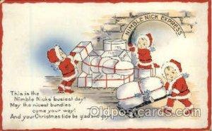 Snow Babies Unused light corner wear left top corner, rest of card is close t...