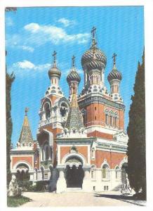 Cathedrale Orthodoxe Russe, La Cote d'Azur, Nice, Alpes Maritimes, France, 50...