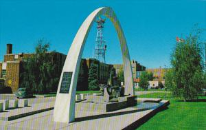 Canada City Hall and Irrigation Monument Lethbridge Alberta