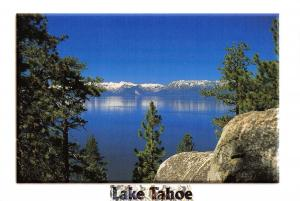 Postcard 1998 Lake Tahoe in Summer, Nevada, California, USA, J49