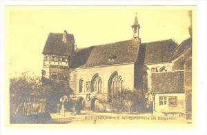 RP, Wolfgangkirche Am Klingentor, Rothenburg o. T. (Bavaria), Germany, 1920-1...