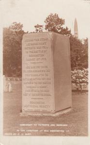 RP: OLD BENNINGTON, Vermont, 1920; Monument to Patriots & Hessians, Cemetary