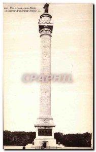 Old Postcard Boulogne sur Mer Column of La Grande Armee