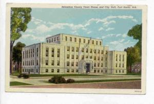 Sebastian County Court House and City Hall, Fort Smith, Arkansas, 00-10s