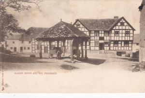 Market House & Inn , PEMBRIDGE , Herefordshire , England , 1904 ; TUCK