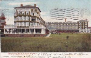 New Jersey Atlantic City Hotel Brighton 1908